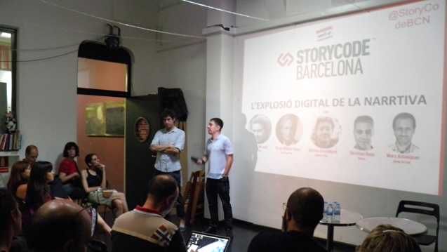 #Meetup de @StorycodeBCN
